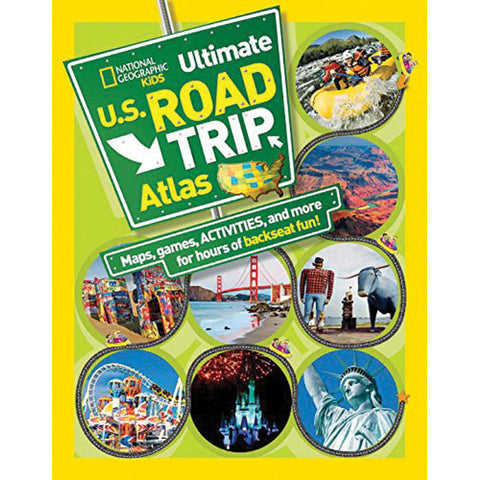 KIDS ULTIMATE ROAD ATLAS