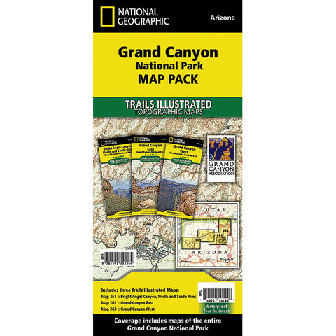 GRAND CANYON NP MAP PACK BUNDL