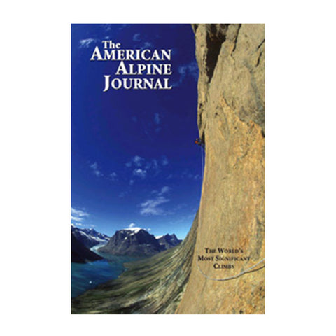 AMERICAN ALPINE JOURNAL 2009