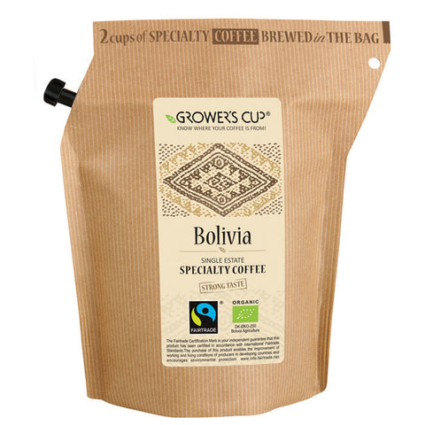BOLIVIA COFFEE MED-STRNG 2 CUP