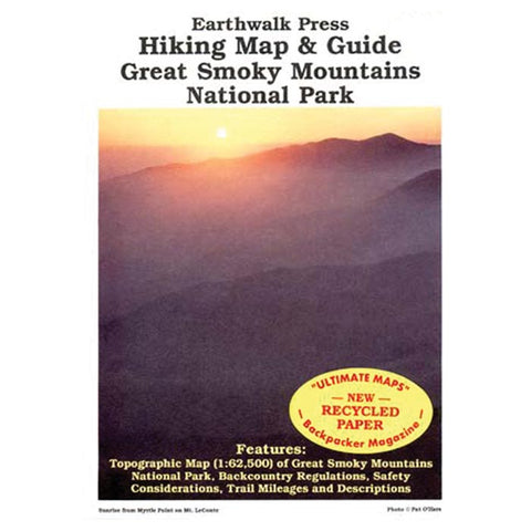 GREAT SMOKY MTNS NP HK MAP GD