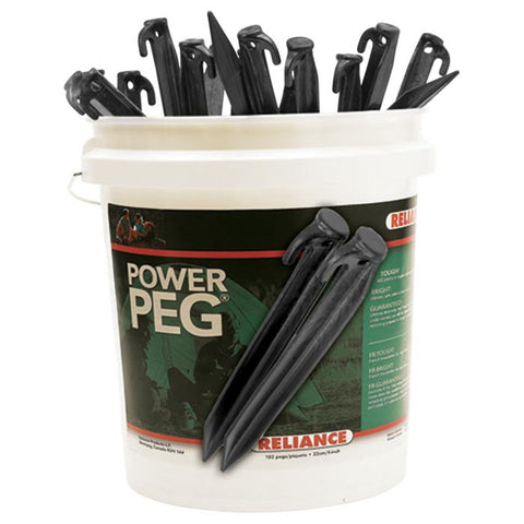 "BUCKET OF PEGS 12"" 180PCS"