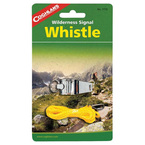 WILDERNESS SIGNAL WHISTLE
