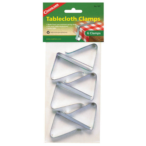 TABLECLOTH CLAMPS 6 PK
