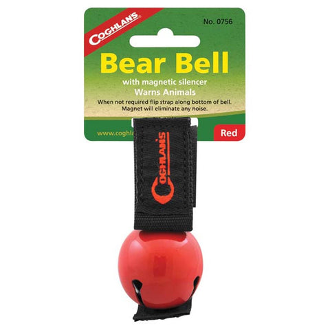 MAGNETIC BEAR BELL RED