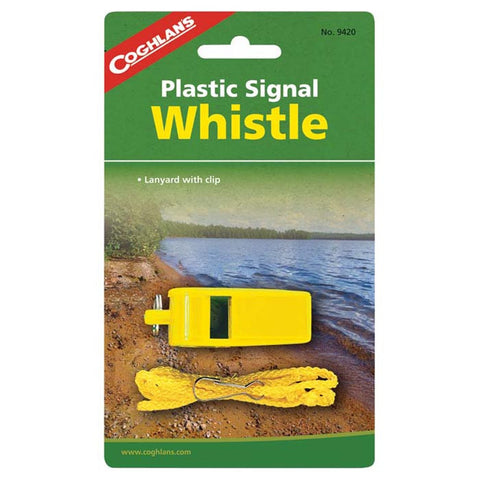 PLASTIC SIGNAL WHISTLE