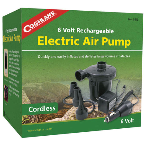 6V RECHARGEABLE AIR PUMP