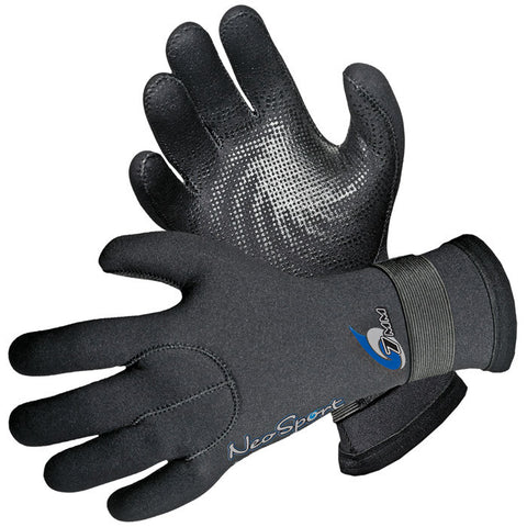 3MM VELCRO GLOVE BLK XXL