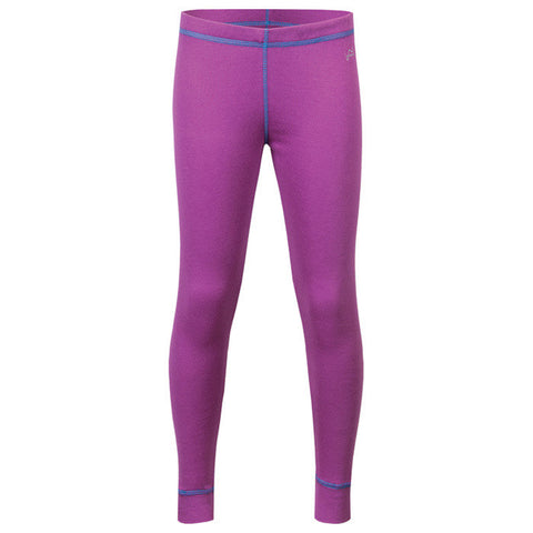 DOUBLE LAYER GRLS PANT PURP XS