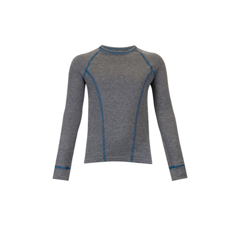 DOUBLE LAYER BOYS L/S GREY LG
