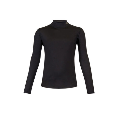 PERFORMANCE GRLS L/S BLACK MD
