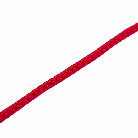CORD LACE RND RED 300'