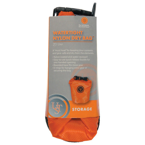 WATERTIGHT NYLON DRY BAG - 20L