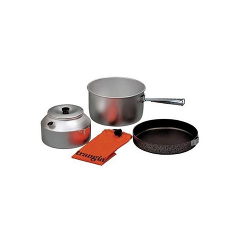 CAMPING SET 2L FRYPAN, KETTLE