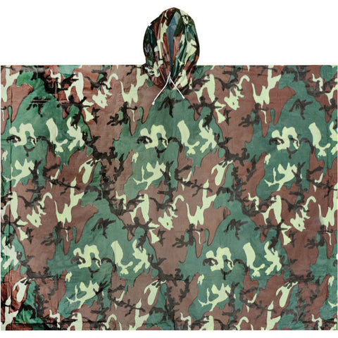 ALL WEATHER PONCHO CAMO