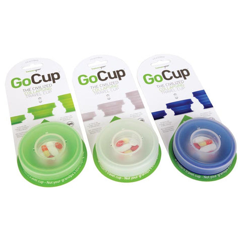GOCUP LARGE 8 OZ CLEAR