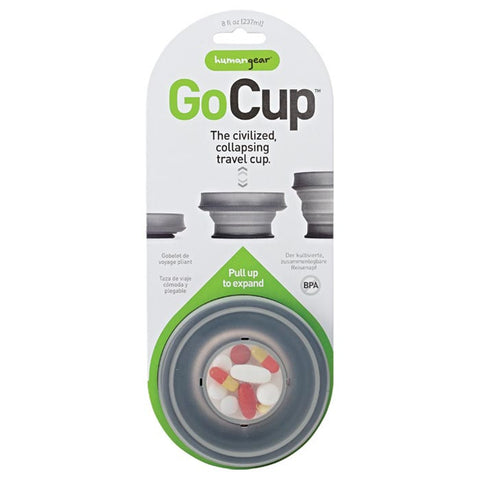GOCUP LARGE 8 OZ BLACK