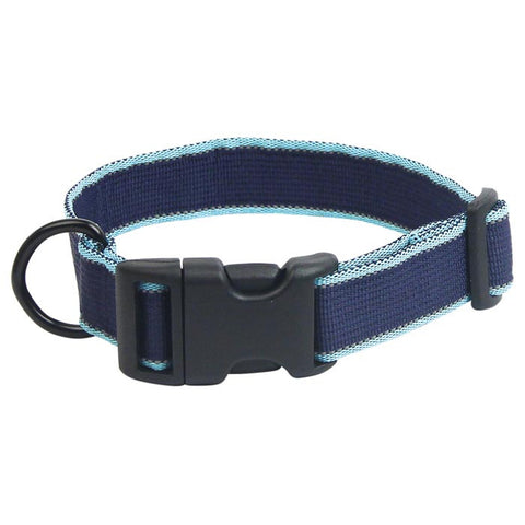 SECRET AGENT COLLAR MD BLUE
