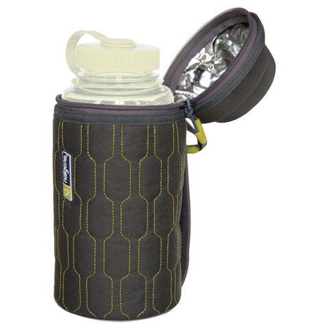 BOTTLE CARRIER INSULATED GRAY