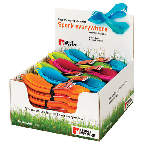 SPORKS'N CASE-36CT POP DISPLAY