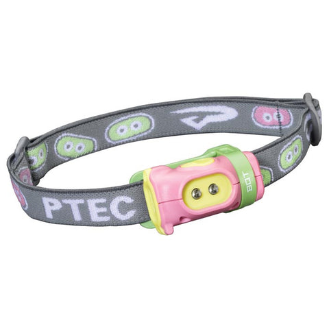 BOT HEADLAMP PINK/GREEN