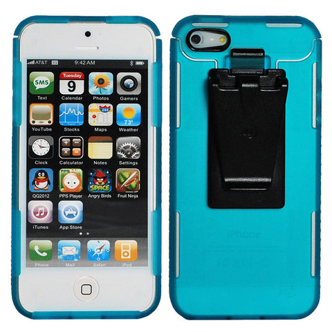CONNECT CASE IPHONE 5 TURQUOIS