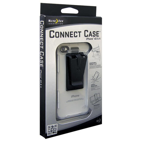 CONNECT CASE IPHONE 4/4S CLEAR