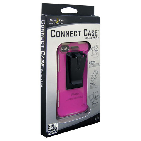 CONNECT CASE IPHONE 4/4S PINK