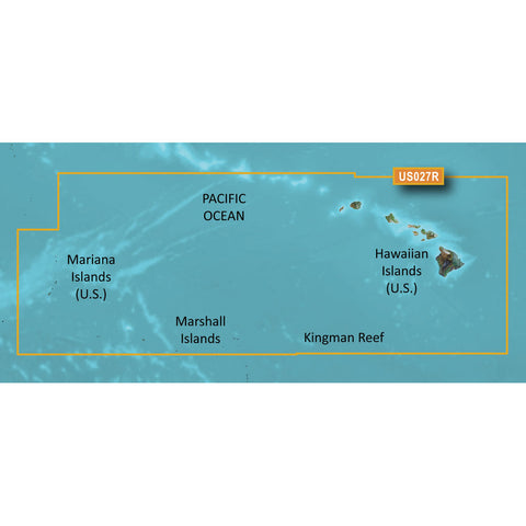 Garmin BlueChart g3 HD - HXUS027R - Hawaiian Islands - Mariana Islands - microSD/SD [010-C0728-20]