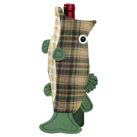 LARGEMOUTH BASS BOTTLE COVER
