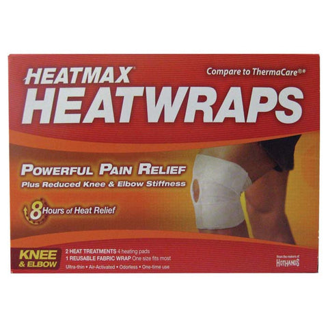 HEATMAX KNEE WRAP 2 CT