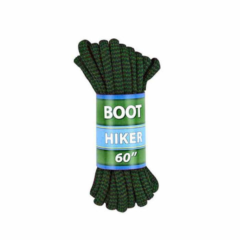 "ALPINE BOOT LACES 60"" BRN/GRN"