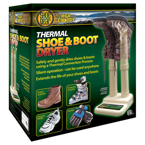 CONVECTION SHOE/BOOT DRYER
