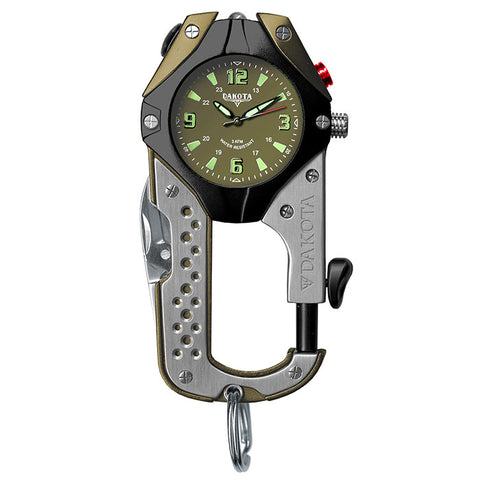 KNIFE CLIP WATCH GREEN