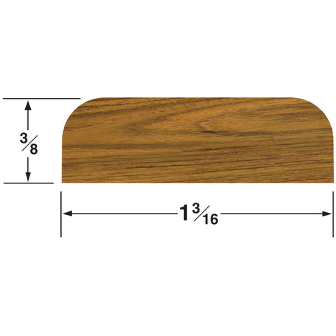 "Whitecap Teak Batten - 1-3/16""W [60859]"
