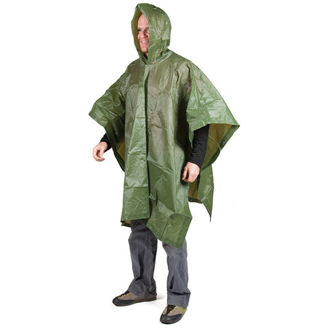 PONCHO MILITARY GREEN