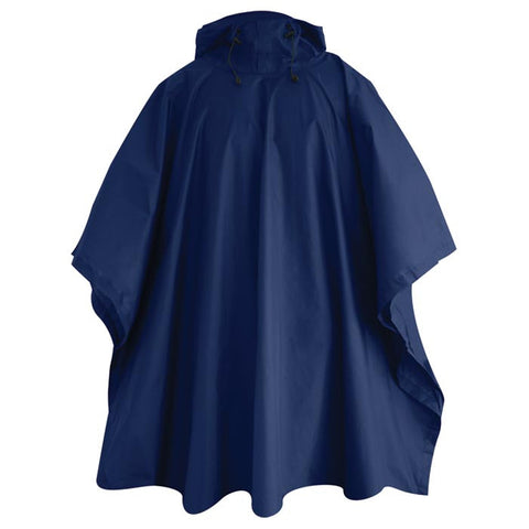 ADULT NYLON PONCHO ROYAL REG