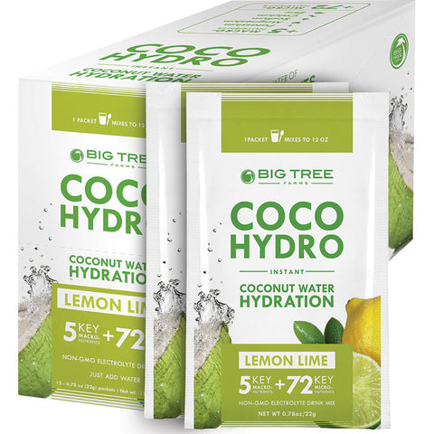 COCO HYDRO LEMON/LIME PACKET