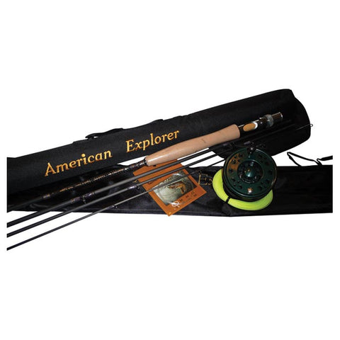 4 PC FLY ROD W/CASE, REEL, LDR