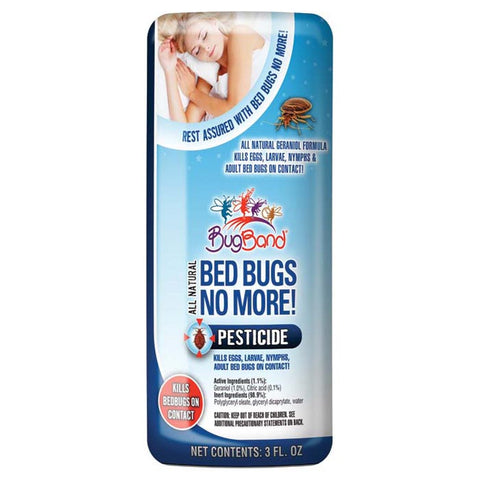 BUGBAND BED BUGS NO MORE 3 OZ
