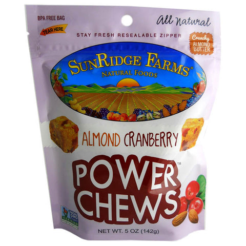 POWER CHEWS ALMOND CRANBERRY