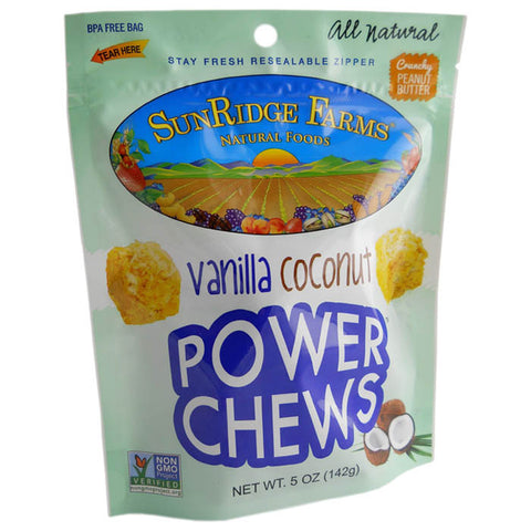 POWER CHEWS VANILLA COCONUT