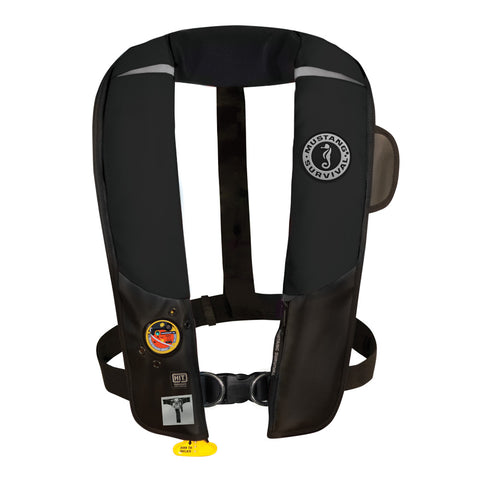 Mustang HIT Inflatable Automatic PFD w/Harness - Black [MD3184/02-BK]