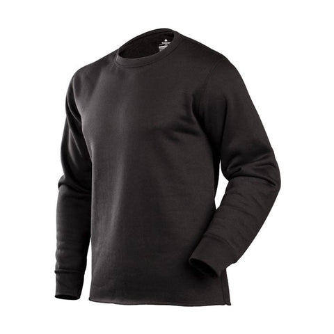 COLDPRUF EXPED MEN CREW BLK LG