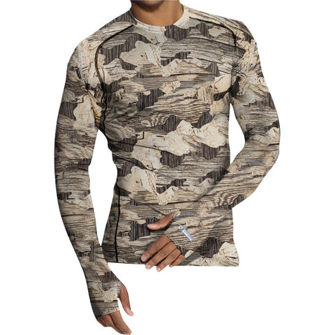 THERMATRIX MENS CREW CAMO LG