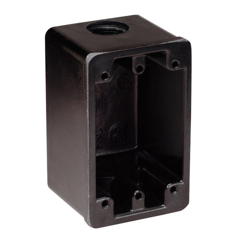 Marinco FS Box Black f/15A, 20A, 30A Receptacles [6080]