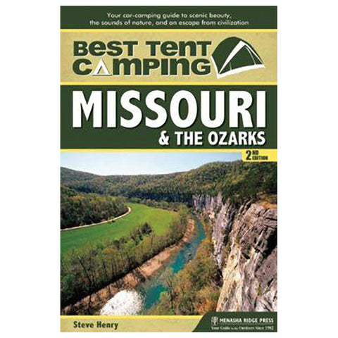 TENT CMPING-MO & OZARKS,2ND ED