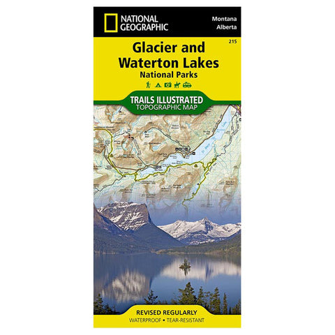 GLACIER/WATERTON LAKES #215