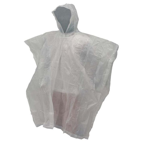 FT EMERGENCY PONCHO WHITE