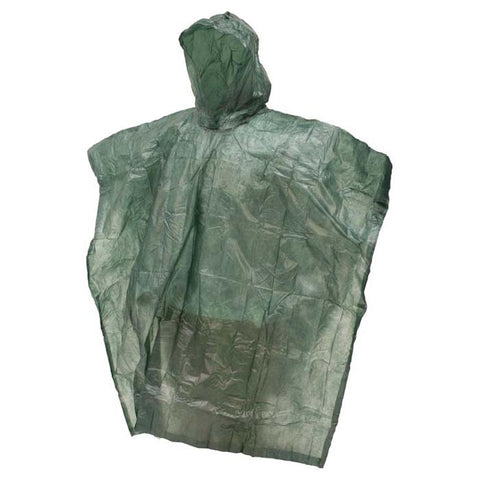 FT EMERGENCY PONCHO GREEN